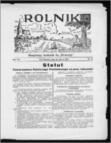 Rolnik 1933, R. 7, nr 11