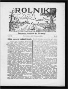 Rolnik 1933, R. 7, nr 21
