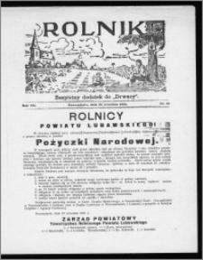 Rolnik 1933, R. 7, nr 32