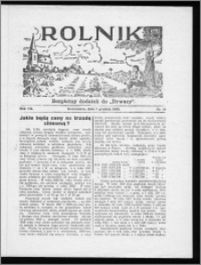 Rolnik 1933, R. 7, nr 41
