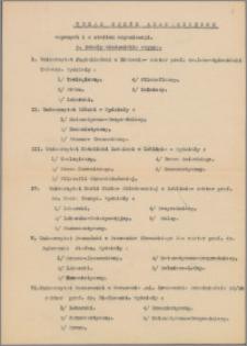 Materiały działalności naukowej (na UMK) Tadeusza Czeżowskiego