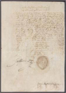 Stefan król polski uwalnia mieszczan żyżmorskich od płacenia podatku na 4 lata (1581-1584) z powodu pożaru miasta w listopadzie 1580 roku