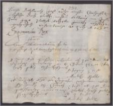 Zygmunt III król polski zleca podskarbiemu nadwornemu [Jackowi Młodziejewskiemu] wypłacić swemu pokojowcowi Andrzejowi Bolko 300 złp pensji