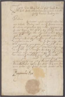 Zygmunt III król polski nakazuje N.N. rotmistrzowi chorągwi kozackiej powiększyć ją o pewną ilość koni i stawić się na popis
