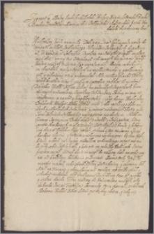 """Zygmunt III król polski do hetmana Jana Karola Chodkiewicza, donosi, że nie będzie możliwe uregulowanie zaległego żołdu wojsku """"inflanckiemu"""" do przyszłych Świątek"""
