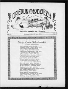 Opiekun Młodzieży 1934, R. 11, nr 15
