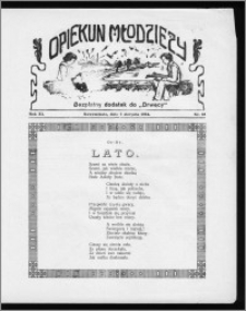 Opiekun Młodzieży 1934, R. 11, nr 16