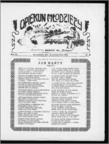 Opiekun Młodzieży 1934, R. 11, nr 21