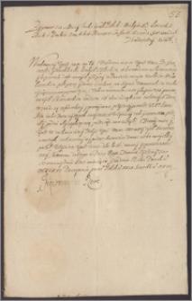 Zygmunt III król polski poleca Leonowi Sapieże kanclerzowi wielkiemu litewskiemu przesłać dokładne odpisy z metryki litewskiej wyroków na Grotowskiego i Kurklińskiego przywódców łupiestw królewszczyzn na Litwie