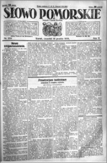 Słowo Pomorskie 1926.12.16 R.6 nr 289