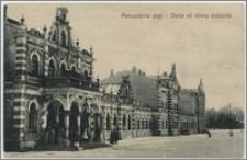 Aleksandrów pogr. Stacja od strony podjazdu