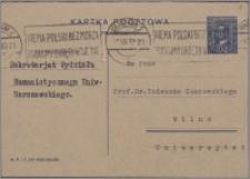 Materiały działalności naukowej i społecznej Tadeusza Czeżowskiego, cz. 5