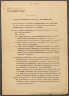 Materiały Tadeusza Czeżowskiego dotyczące jego działalności w Towarzystwie Naukowym w Toruniu, cz. 1