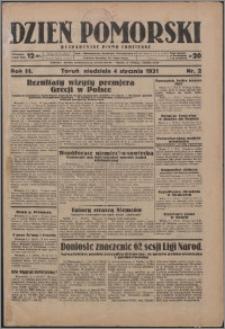 Dzień Pomorski 1931.01.04, R. 3 nr 2