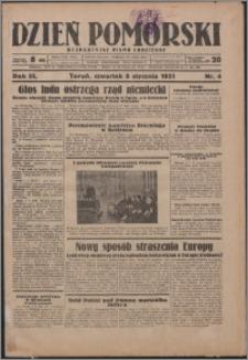 Dzień Pomorski 1931.01.08, R. 3 nr 4