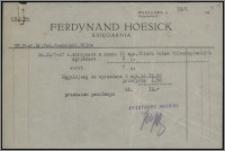 Materiały działalności naukowej Tadeusza Czeżowskiego (sprawy wydawnicze, korespondencja, rachunki, umowy), cz. 3