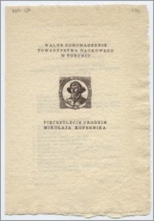 [Zaproszenie. Incipit] Towarzystwo Naukowe w Toruniu ma zaszczyt zaprosić na Doroczne Walne Zgromadzenie ...dnia 28 lutego 1973 roku