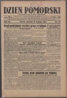 Dzień Pomorski 1931.02.15, R. 3 nr 36