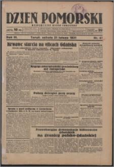 Dzień Pomorski 1931.02.20, R. 3 nr 40