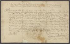 Jan III król polski nadaje Aleksandrowi Hilaremu Połubińskiemu marszałkowi litewskiemu dzierżawę Żorany w starostwie żmudzkim wakującą po śmierci Anny Poźniakowej