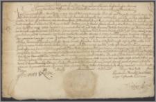 Jan III król polski przyznaje wojewodzie malborskiemu Janowi Gnińskiemu 12 000 złp rocznie dożywotniej pensji na starostwie radzyńskim, które pozwolił mu król przelać na jego syna