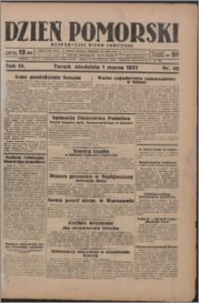 Dzień Pomorski 1931.03.01, R. 3 nr 48