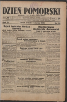 Dzień Pomorski 1931.03.04, R. 3 nr 50