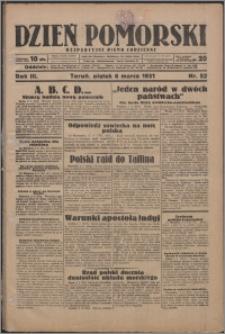 Dzień Pomorski 1931.03.06, R. 3 nr 52