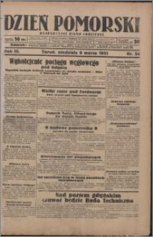 Dzień Pomorski 1931.03.08, R. 3 nr 54