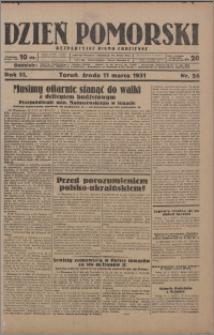 Dzień Pomorski 1931.03.11, R. 3 nr 56
