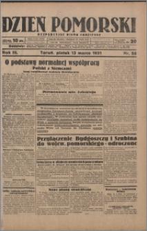 Dzień Pomorski 1931.03.13, R. 3 nr 58