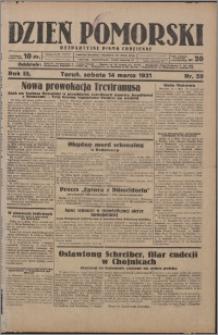 Dzień Pomorski 1931.03.14, R. 3 nr 59