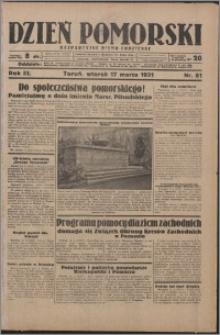 Dzień Pomorski 1931.03.17, R. 3 nr 61