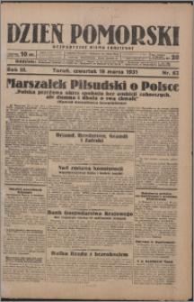 Dzień Pomorski 1931.03.19, R. 3 nr 63