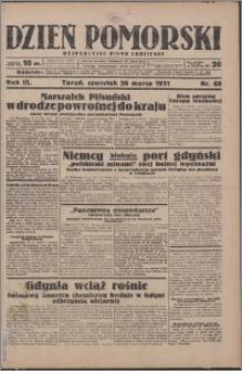 Dzień Pomorski 1931.03.26, R. 3 nr 69