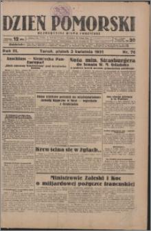 Dzień Pomorski 1931.04.03, R. 3 nr 76
