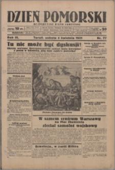 Dzień Pomorski 1931.04.04, R. 3 nr 77