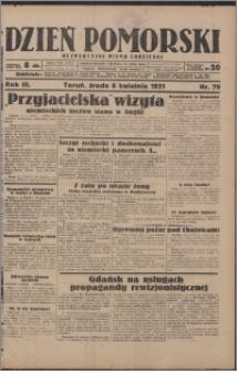 Dzień Pomorski 1931.04.08, R. 3 nr 79