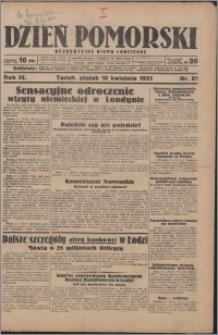 Dzień Pomorski 1931.04.10, R. 3 nr 81