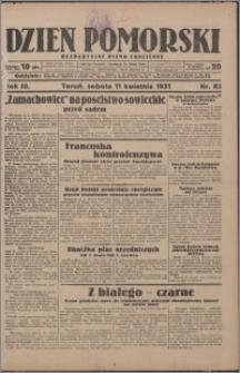 Dzień Pomorski 1931.04.11, R. 3 nr 82