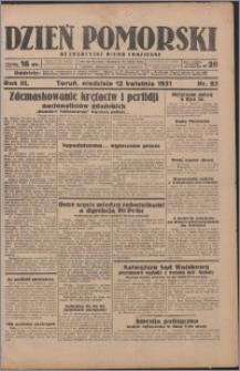 Dzień Pomorski 1931.04.12, R. 3 nr 83