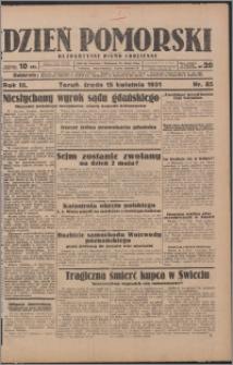 Dzień Pomorski 1931.04.15, R. 3 nr 85