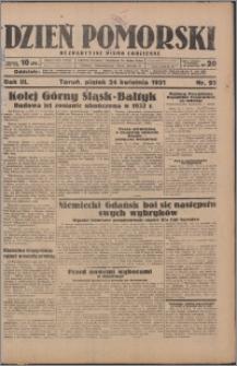 Dzień Pomorski 1931.04.24, R. 3 nr 93