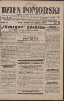 Dzień Pomorski 1931.04.28, R. 3 nr 96