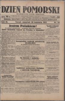 Dzień Pomorski 1931.04.30, R. 3 nr 98