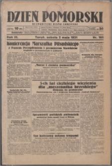 Dzień Pomorski 1931.05.02, R. 3 nr 100