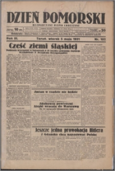 Dzień Pomorski 1931.05.05, R. 3 nr 102