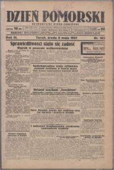 Dzień Pomorski 1931.05.06, R. 3 nr 103