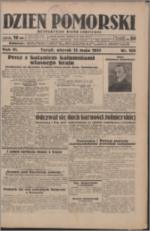 Dzień Pomorski 1931.05.12, R. 3 nr 108