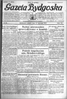 Gazeta Bydgoska 1927.01.21 R.6 nr 16